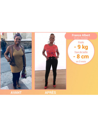 Result using the Slimming Ball Ultra