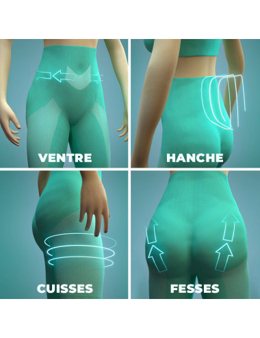 Effects of the Double Action Slimming Panty