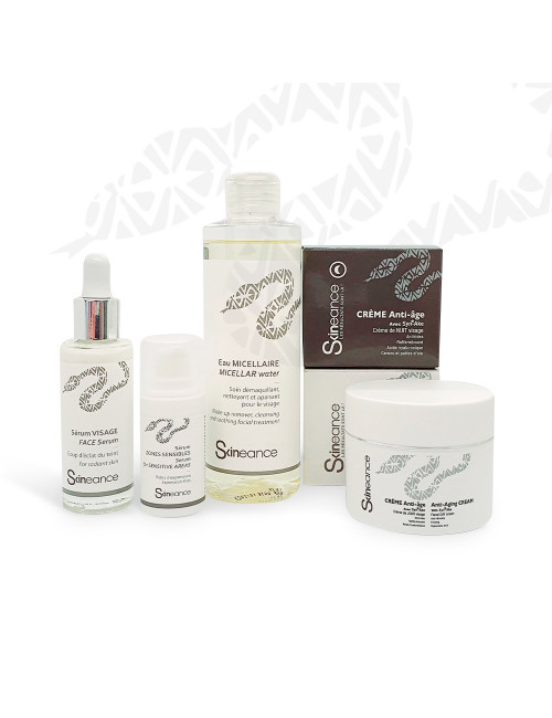 Ritual 5 products Skineance with snake venom