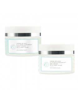 Skineance Regenerating day and night cream with snail slime