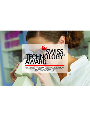 Kit anti-âge récompensé par le Swiss Technology Award